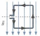 Квадратная рамка расположена в однородном магнитном поле 2 задание