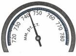 Показания барометра 3 задание 2 вариант