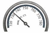 Шкала барометра 3 задание 3 вариант